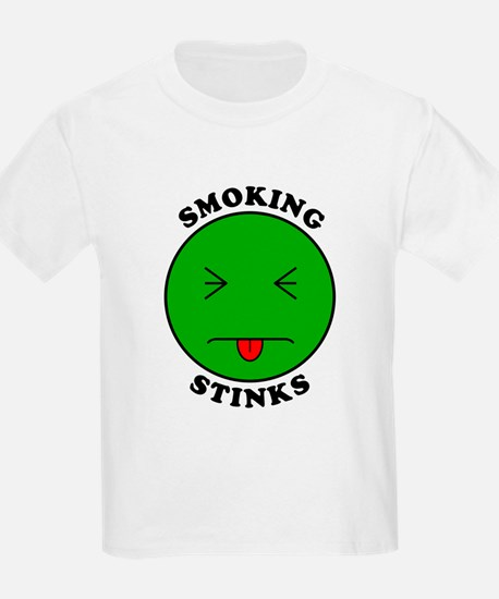 Smoking Stinks Kids T-Shirt