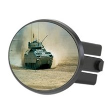 M-1 Abrams Main Battle Tank in th Hitch Cover