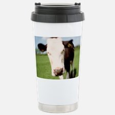 Image simulating cow with mad c Stainless Steel Tr