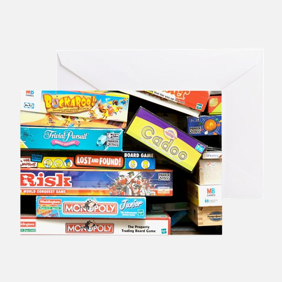 Indoor games Greeting Card