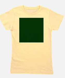 Dark Green Girl's Tee