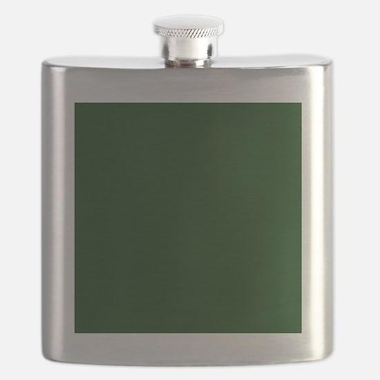 Dark Green Flask