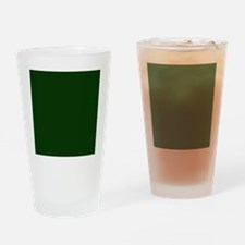 Dark Green Drinking Glass