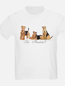 Got Airedale Terriers? Kids T-Shirt