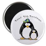 Best Big Brother penguins Magnet