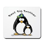 Best Big Brother penguins Mousepad