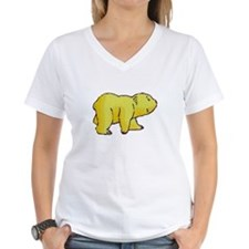 YELLOW CARTOON BEAR WALKING Shirt