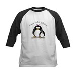 Best Big Sister penguins Kids Baseball Jersey
