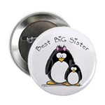 Best Big Sister penguins Button