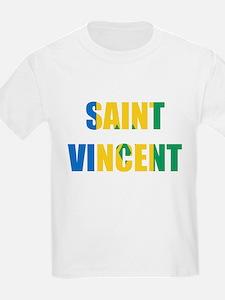 Saint Vincent Kids T-Shirt