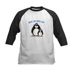 Big Brother Penguin Kids Baseball Jersey