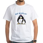 Big Brother Penguin White T-Shirt