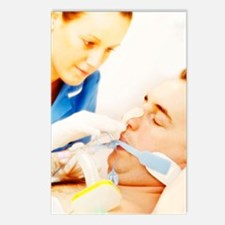 Intensive care patient Postcards (Package of 8)