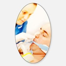 Intensive care patient Decal