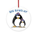 Big Brother Penguin Ornament (Round)