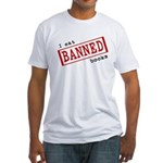 Banned Books Fitted T-Shirt