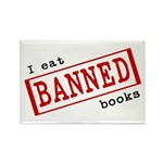 Banned Books Rectangle Magnet (100 pack)