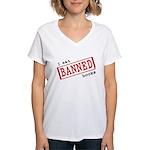 Banned Books Women's V-Neck T-Shirt