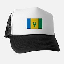 Saint Vincent Flag Trucker Hat