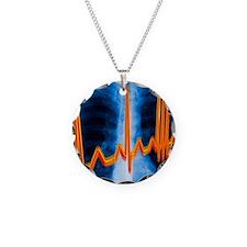 Irregular heartbeat Necklace