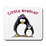 Little Brother Penguin Mousepad