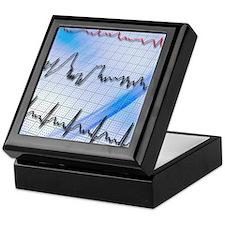 Irregular heartbeat Keepsake Box