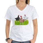 Assorted Cornish Women's V-Neck T-Shirt