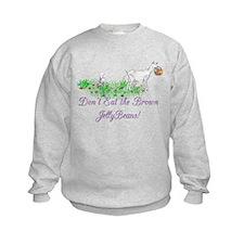 Saanen-GOAT-Brown JellyBeans Sweatshirt