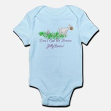 Saanen-GOAT-Brown JellyBeans Infant Bodysuit