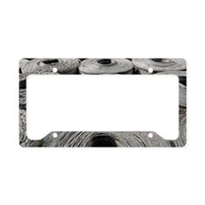 Insulation material License Plate Holder