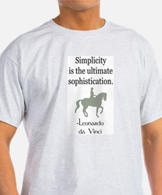 dressage rider w/ quote T-Shirt