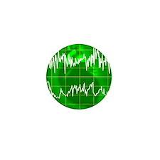 Irregular heartbeat Mini Button