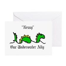 nessy Greeting Cards (Pk of 10)