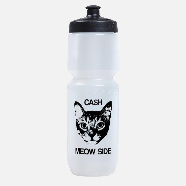 CASH MEOW SIDE Sports Bottle