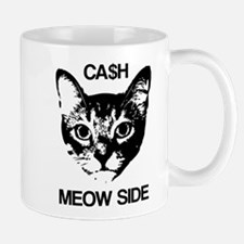CASH MEOW SIDE Mugs