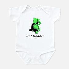 Green Rat Rodder Infant Bodysuit