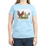 Blue Mille Fleur d'Uccles Women's Light T-Shirt