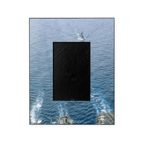 Aerial view of the USS Nimitz aircra Picture Frame