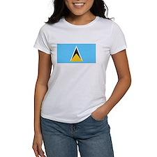 Saint Lucia Flag Tee