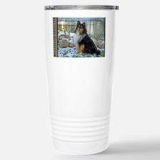 Tri-Color Sheltie Travel Mug