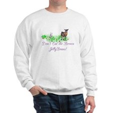 Pygmy-GOAT-Brown JellyBeans Sweatshirt