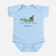 Pygmy-GOAT-Brown JellyBeans Infant Bodysuit