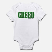 Greed Logo Infant Bodysuit