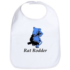 Blue Rat Rodder Bib