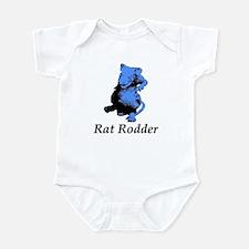 Blue Rat Rodder Infant Bodysuit