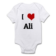 I Love Ali Infant Bodysuit