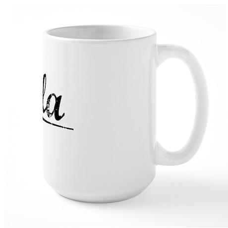 Eula, Vintage Large Mug