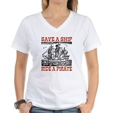 Save a Ship, Ride a Pirate Shirt