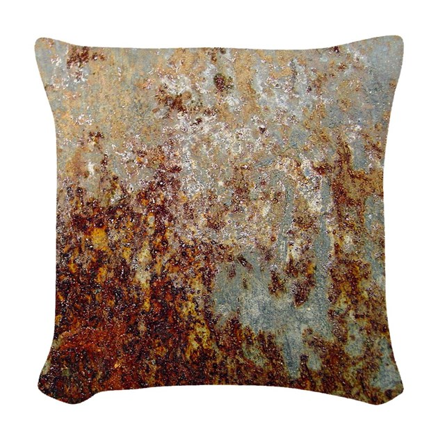 Decorative Pillow Rust : Rust Woven Throw Pillow by ADMIN_CP68744922