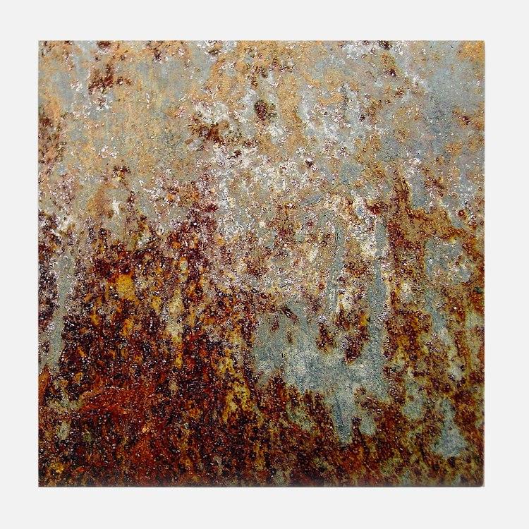 Rust Tile Coaster